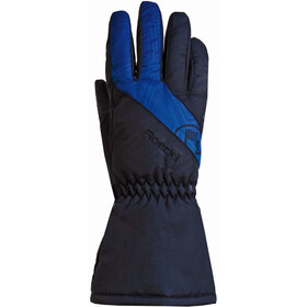 Roeckl Auron Gants Enfant, black/royal